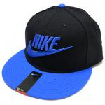 NIKE SNAPBACK CAP(BLACK/BLUE)/ナイキ スナップバック キャップ<img class='new_mark_img2' src='https://img.shop-pro.jp/img/new/icons51.gif' style='border:none;display:inline;margin:0px;padding:0px;width:auto;' />