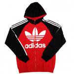 adidas Originals Lo Life Ultra Star Full Zip Hoodie(RED)/アディダス オリジナルス ジップフーディー<img class='new_mark_img2' src='https://img.shop-pro.jp/img/new/icons51.gif' style='border:none;display:inline;margin:0px;padding:0px;width:auto;' />