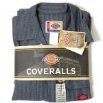 Dickies Coverall(FISHER STRIPE)/ディッキーズ カバーオール 長袖 つなぎ【お取り寄せ商品】