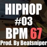HIPHOP TRACK-03 BPM67 - ヒップホップインストトラック TRAP系