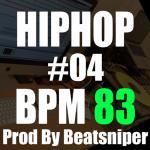 HIPHOP TRACK-04 BPM83 - ヒップホップインストトラック Dirty South系