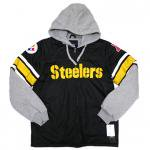 GIII NFL ONE ON ONE FLC JACKET Pittsburgh Steelers(BLACK/YELLOW)/スティーラーズ フリースジャケット<img class='new_mark_img2' src='https://img.shop-pro.jp/img/new/icons51.gif' style='border:none;display:inline;margin:0px;padding:0px;width:auto;' />