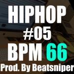 HIPHOP TRACK-05 BPM66 - ヒップホップインストトラック Trap系