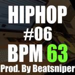 HIPHOP TRACK-06 BPM63 - ヒップホップインストトラック Trap系
