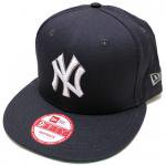 NEW ERA SNAPBACK CAP New York Yankees(NAVY/WHITE)/ニューエラ スナップバックキャップ ヤンキース<img class='new_mark_img2' src='https://img.shop-pro.jp/img/new/icons51.gif' style='border:none;display:inline;margin:0px;padding:0px;width:auto;' />