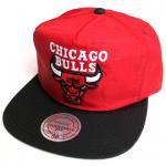 Mitchell & Ness Nylon RipStop cap(RED)/ミッチェル&ネス ナイロン リップストップ キャップ ブルズ