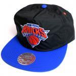 Mitchell & Ness Nylon RipStop cap New York Knicks(Black)/ミッチェル&ネス ナイロン キャップ