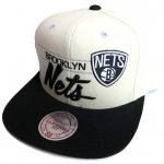 Mitchell & Ness Fashion Color Snapback Cap Brooklyn Nets��Cream White��/�ߥå�������ͥ�<img class='new_mark_img2' src='http://shop.neosound.jp/img/new/icons29.gif' style='border:none;display:inline;margin:0px;padding:0px;width:auto;' />