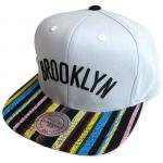 Mitchell & Ness SnapBack Cap NATIVE STRIPE CANVAS Brooklyn Nets��GRAY��/�ߥå�������ͥ� �ͥå�<img class='new_mark_img2' src='http://shop.neosound.jp/img/new/icons51.gif' style='border:none;display:inline;margin:0px;padding:0px;width:auto;' />