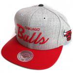 Mitchell & Ness SnapBack Cap Chicago Bulls(GRAY/RED)/ミッチェル&ネス スナップバックキャップ<img class='new_mark_img2' src='https://img.shop-pro.jp/img/new/icons51.gif' style='border:none;display:inline;margin:0px;padding:0px;width:auto;' />