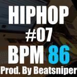 HIPHOP TRACK-07 BPM86 - ヒップホップ インストトラック DirtySouth系
