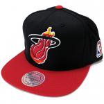 Mitchell & Ness XL LOGO 2Tone SnapBack Cap Miami Heat / ミッチェル&ネス スナップバック ヒート<img class='new_mark_img2' src='https://img.shop-pro.jp/img/new/icons51.gif' style='border:none;display:inline;margin:0px;padding:0px;width:auto;' />