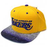 Mitchell & Ness COURT VISION SnapBack Cap Los Angeles Lakers / �ߥå�������ͥ� ���ʥåץХå�<img class='new_mark_img2' src='http://shop.neosound.jp/img/new/icons29.gif' style='border:none;display:inline;margin:0px;padding:0px;width:auto;' />