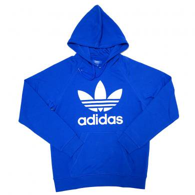 adidas Originals Raglan Trefoil Fleece Hoodie (Blue)/���ǥ����� �饰��� �ץ륪���С� �ա��ǥ��� ����