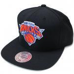 Mitchell & Ness SnapBack Cap New York Knicks(BLACK)/ミッチェル&ネス ニューヨーク ニックス