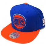 Mitchell & Ness SnapBack Cap New York Knicks(BLUE/ORANGE)/ミッチェル&ネス ニューヨーク ニックス<img class='new_mark_img2' src='https://img.shop-pro.jp/img/new/icons29.gif' style='border:none;display:inline;margin:0px;padding:0px;width:auto;' />