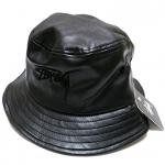 Stussy Stock Leather Bucket Hat(Black)/ステューシー ストック レザー バケットハット