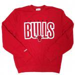 Mitchell & Ness NBA Crewneck Chicago Bulls (B/R) / ミッチェル&ネス クルーネック シカゴブルズ<img class='new_mark_img2' src='https://img.shop-pro.jp/img/new/icons51.gif' style='border:none;display:inline;margin:0px;padding:0px;width:auto;' />