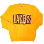 Mitchell & Ness NBA Crewneck Los Angels Lakers (Y) / ミッチェル&ネス クルーネック ロスアンジェルス レイカーズ<img class='new_mark_img2' src='https://img.shop-pro.jp/img/new/icons51.gif' style='border:none;display:inline;margin:0px;padding:0px;width:auto;' />