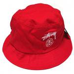 Stussy Stock Lock SU15 Bucket Hat (Red)/ステューシー ストック ロック バケットハット <img class='new_mark_img2' src='https://img.shop-pro.jp/img/new/icons29.gif' style='border:none;display:inline;margin:0px;padding:0px;width:auto;' />