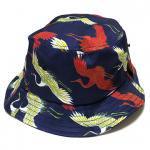 Stussy Cranes Bucket Hat (Navy) /ステューシー クレイン バケットハット SU15