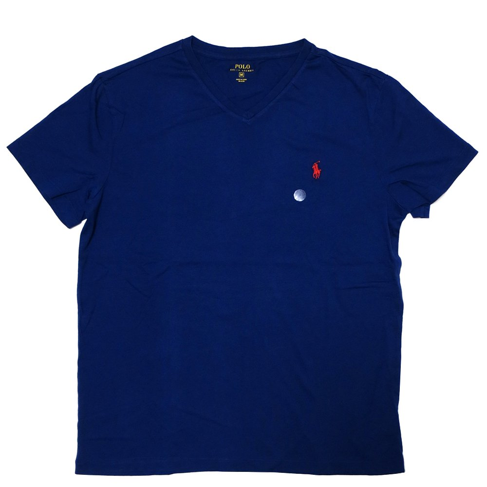 Polo Ralph Lauren V-Neck T-Shirt (LONDON BLUE) / ポロ ラルフローレン Vネック Tシャツ