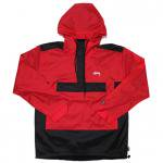 Stussy Ripstop Pullover (Red) / ステューシー リップストップ プルオーバー<img class='new_mark_img2' src='https://img.shop-pro.jp/img/new/icons51.gif' style='border:none;display:inline;margin:0px;padding:0px;width:auto;' />