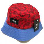 Stussy Simple Paisley Bucket Hat (Red) / ステューシー ペイズリー柄 バケットハット