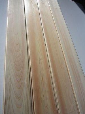 【最高級】東濃桧羽目板4m 無地上小(働き105mm)8枚