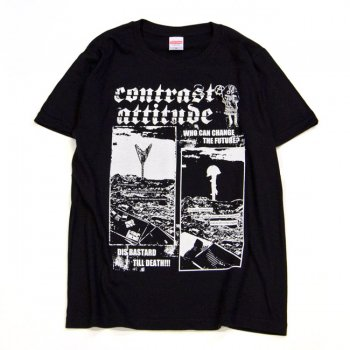 ▼contrast attitude - The eyes T-shirt contrast ver.▼