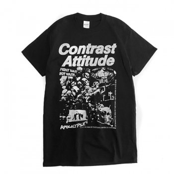 ▼contrast attitude - The eyes T-shirt APOCALYPSE ver.▼