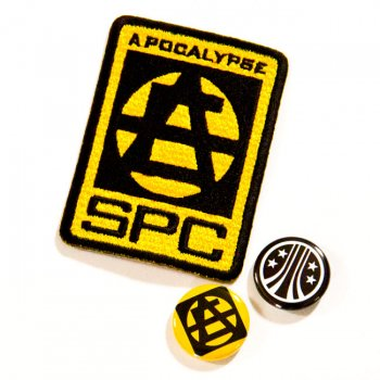 ▼APOCALYPSE - WORK WAPPEN/BADGE SET▼