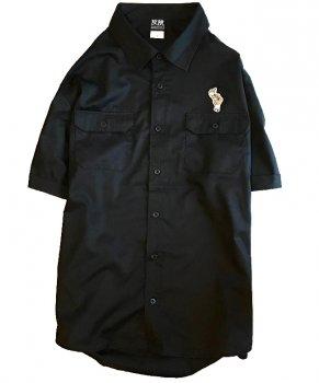 ▼APOCALYPSE - 猫ずきんちゃんワークシャツ グレー▼