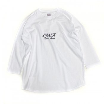 ▼Watax - EROLIST Lonely Pervertラグラン3/4スリーブTシャツ タイプA▼