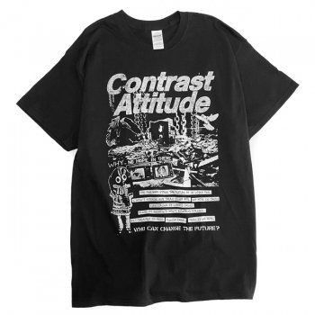 ▼contrast attitude - Tシャツ(NO HOPE IN THERE)▼