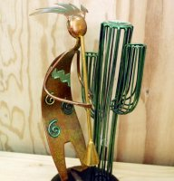 ココペリとサワロの花瓶
