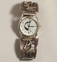 ココペリの腕時計 シルバーココペリ細工 メンズ