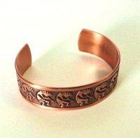 ココペリのバングル Sunrise Copper 2.1cm