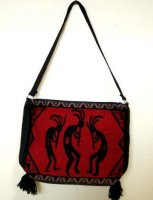 ココペリ ショルダーバッグ赤×黒