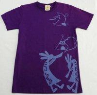 ココペリのTシャツ パープル S,M,XL