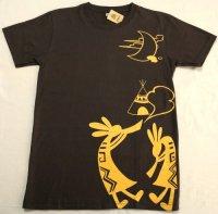 ココペリのTシャツ ブラウン XL