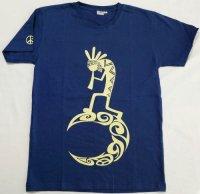 ココペリのTシャツ ネイビー S