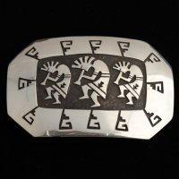 ココペリのバックル シルバー ホピ族