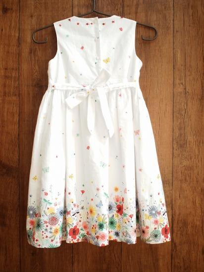 9bd5632619466 Sarah Louise  スモッキング刺繍 花柄ワンピース《ビビッドフラワー ...