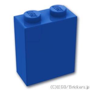 ブロック 1 x 2 x 2:[Blue / ブルー]