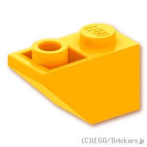 逆スロープ 45°- 2 x 1:[Bt,Lt Orange / ブライトライトオレンジ]
