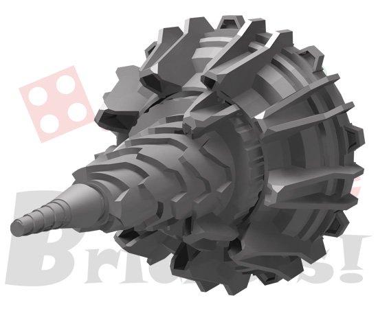 オリジナルセット/二重反転ドリルユニット