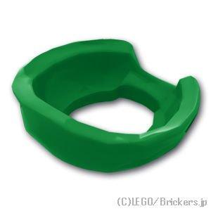 ニンジャ スカーフ バックノッチ:[Green / グリーン]