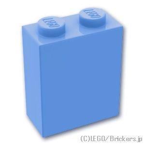 ブロック 1 x 2 x 2:[Md,Blue / ミディアムブルー]