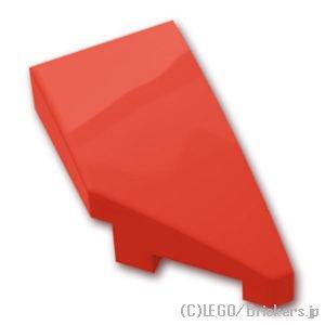 スロープ カーブ 1 x 2 右:[Red / レッド]